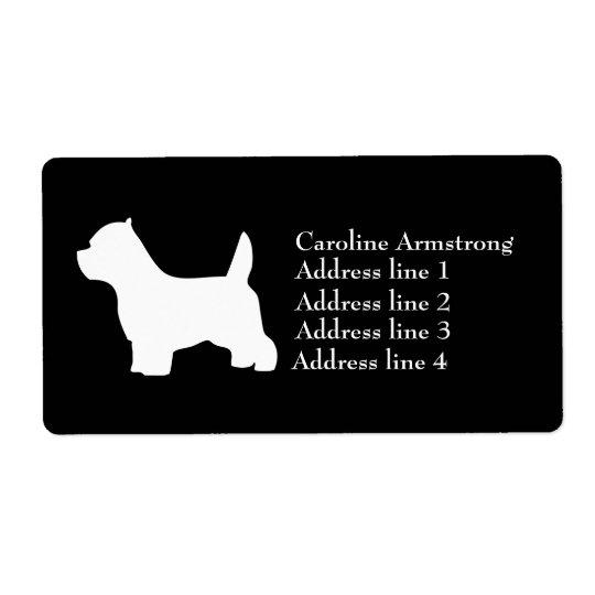 West Highland Whiter Terrier dog custom