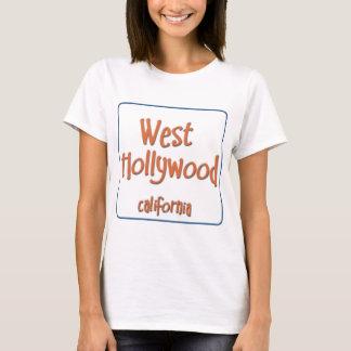 West Hollywood California BlueBox T-Shirt