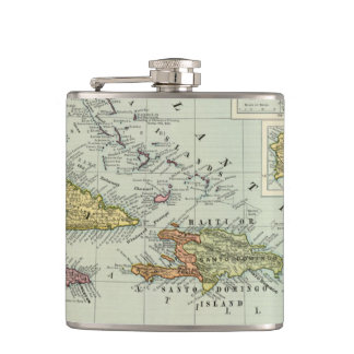 West Indies 11 Hip Flask