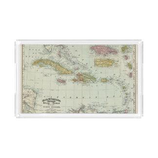 West Indies 11 Perfume Tray