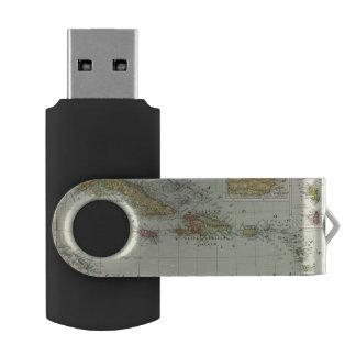 West Indies 11 Swivel USB 2.0 Flash Drive