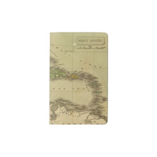 West Indies 6 Pocket Moleskine Notebook
