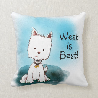 West is Best Throw Pillow