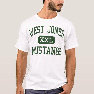 West Jones - Mustangs - High - Laurel Mississippi T-Shirt