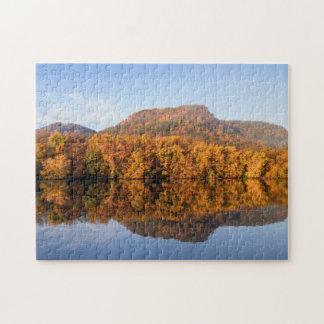West Lake Fall Reflection Jigsaw Puzzle