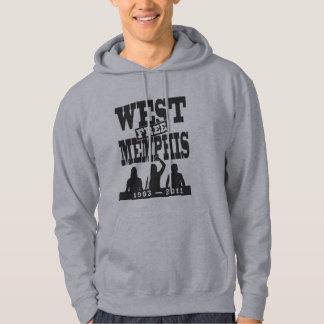 West Memphis Three hooded sweatshirt