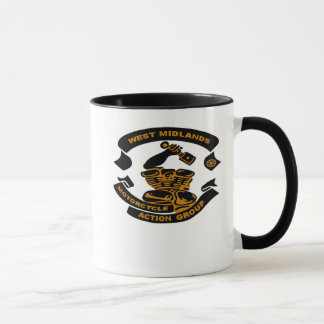 West Midlands MAG Logo Mug