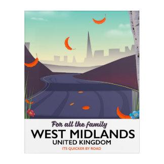 West Midlands, United Kingdom Acrylic Wall Art