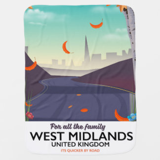 West Midlands, United Kingdom Baby Blanket