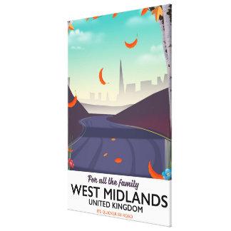 West Midlands, United Kingdom Canvas Print