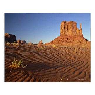 West Mitten Butte, Monument Valley Navajo Tribal Poster