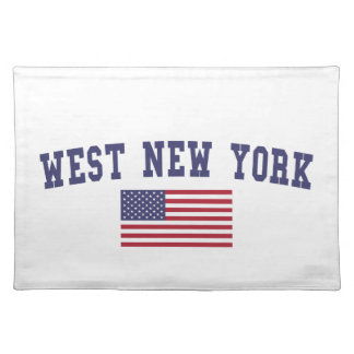 West New York US Flag Placemat