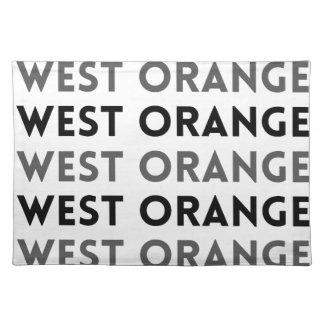 West Orange New Jersey Tile Design Place Mat