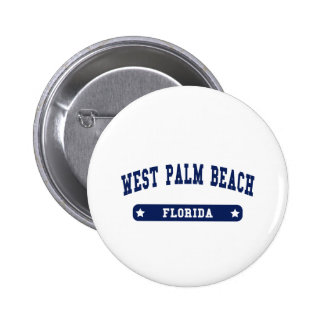 West Palm Beach Florida College Style tee shirts Pin
