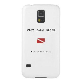 West Palm Beach Florida Scuba Dive Flag Galaxy S5 Covers