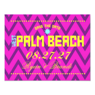 WEST PALM BEACH Save The Date Card