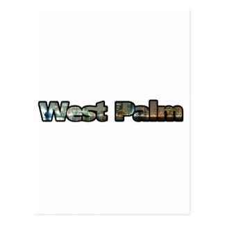 West Palm Skyline Postcard