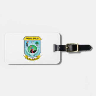 West Papua Flag Luggage Tag