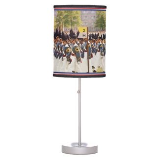 West Point Cadets Customizable Text Table Lamp
