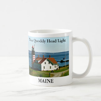 West Quoddy Head Light, Maine Mug