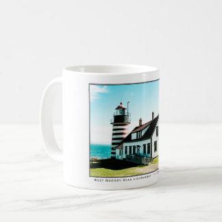 West Quoddy Head Lighthouse Coffee Mug