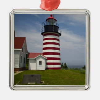West Quoddy Head Lighthouse State Park is the Metal Ornament