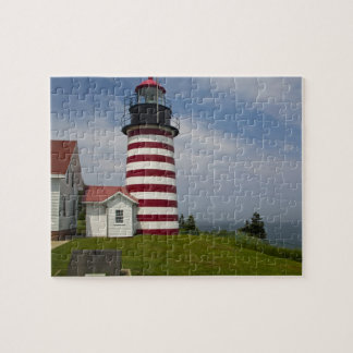 West Quoddy Head Lighthouse State Park is the Puzzles
