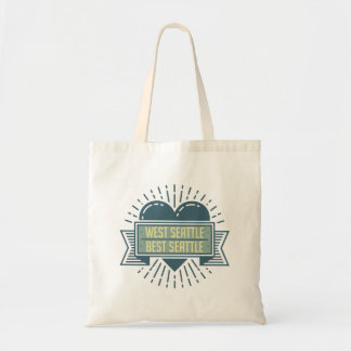 West Seattle tote bag
