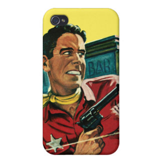 West Sheriff iPhone Speck Case iPhone 4 Cover