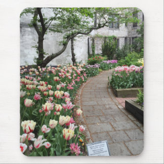 West Side Community Garden Tulip New York City NYC Mouse Pad