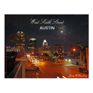 West Sixth Street Austin Post Card