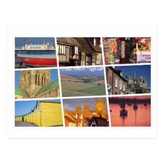 West Sussex multi-image Postcard
