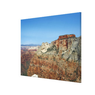 West Temple Canvas Print