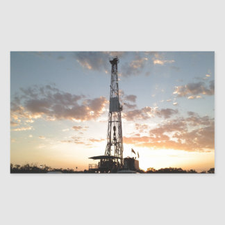 West Texas Drilling Rig Sticker