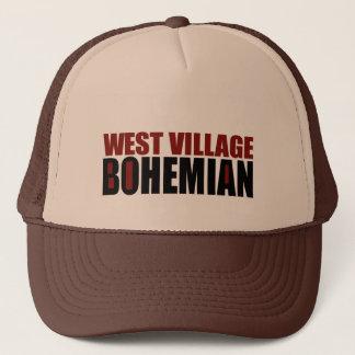 WEST VILLAGE BOHEMIAN TRUCKER HAT