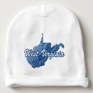 West Virginia Baby Beanie