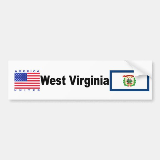 West Virginia Bumper Sticker