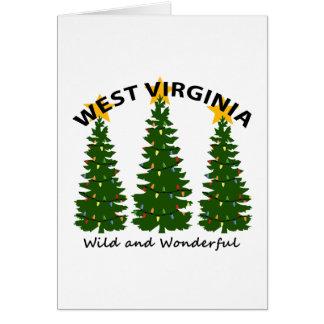 West Virginia Christmas Card