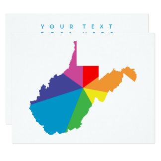 west virginia color burst card