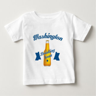 West Virginia Drinking team Baby T-Shirt