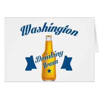West Virginia Drinking team Card