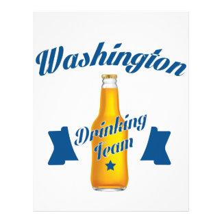 West Virginia Drinking team Letterhead