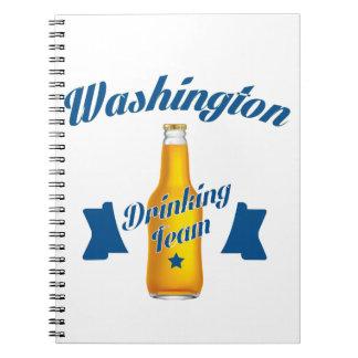 West Virginia Drinking team Spiral Notebook
