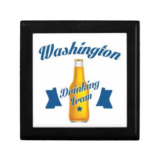 West Virginia Drinking team Trinket Boxes