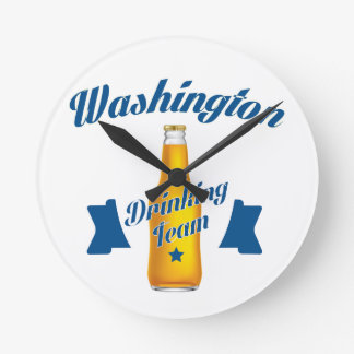West Virginia Drinking team Wallclocks