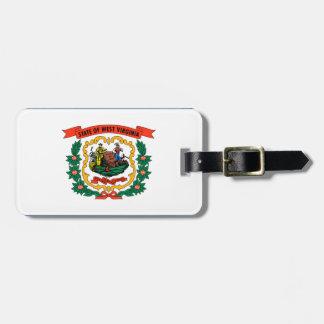 West Virginia Flag Luggage Tag