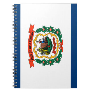 West Virginia Flag Notebooks