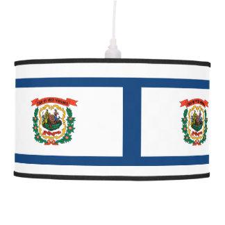 West Virginia Flag Pendant Lamp