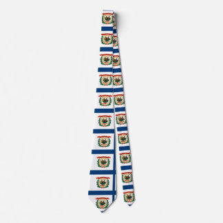 West Virginia Flag Tie