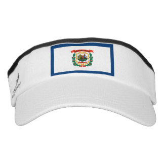 West Virginia Flag Visor